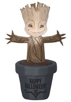 Guardians of the Galaxy Inflatable Baby Groot in Pot Decor