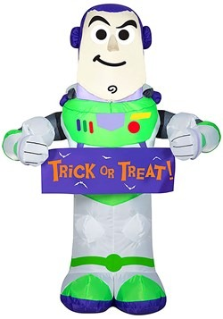 Inflatable Buzz Lightyear Toy Story with Banner