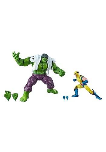 Marvel Legends Wolverine Hulk 6 Inch Action Figures 2 Pack