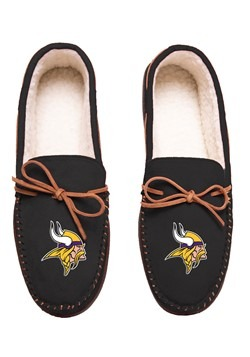 MINNESOTA VIKINGS TEAM COLOR BIG LOGO MOCCASIN