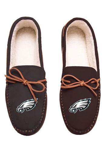 PHILADELPHIA EAGLES TEAM COLOR BIG LOGO MOCCASIN
