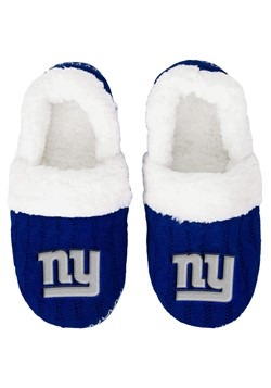NEW YORK GIANTS UGLY KNIT WOMENS MOCCASIN