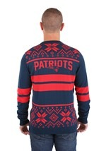 New England Patriots 2 Stripe Big Logo Light-Up Sweater alt1