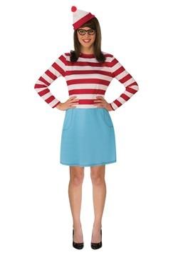 Where's Waldo Wenda Plus Size Adult Costume