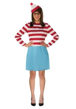 Adult Where's Waldo Wenda Costume