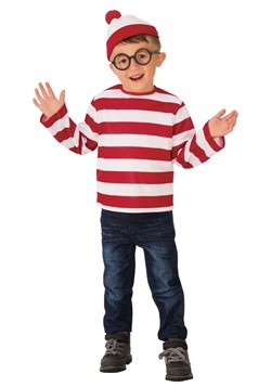 Child's Where's Waldo Costume