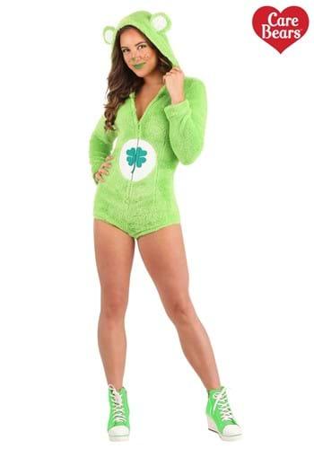 Women's Good Luck Bear Romper Costume