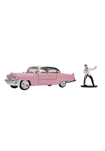Cadillac Fleetwood 1955 with Elvis Figure 1:24 Scale