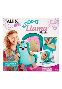 Knot A Llama Plush