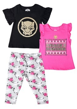 Black Panther Toddler 3pc Set