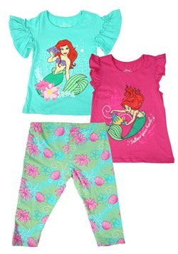 Little Mermaid 3 Piece Set new