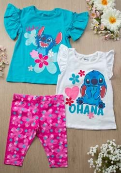 Lilo & Stitch 3 Piece Set New 1