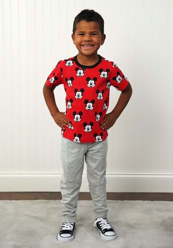Mickey Mouse Tee and French Terry Pant Set Update