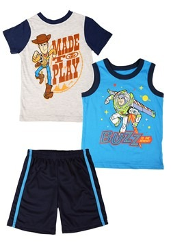 Toy Story 3 Piece Knit Tank, Tee, and Short Set
