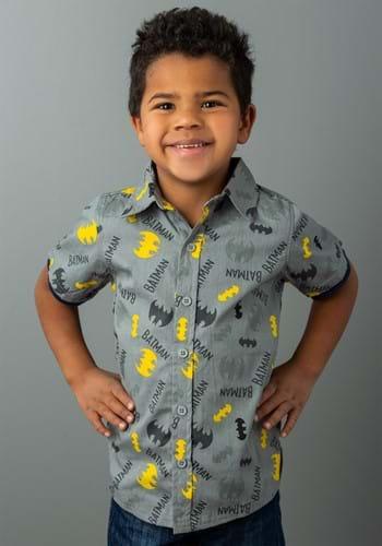 Batman Button Up Shirt Upd 1