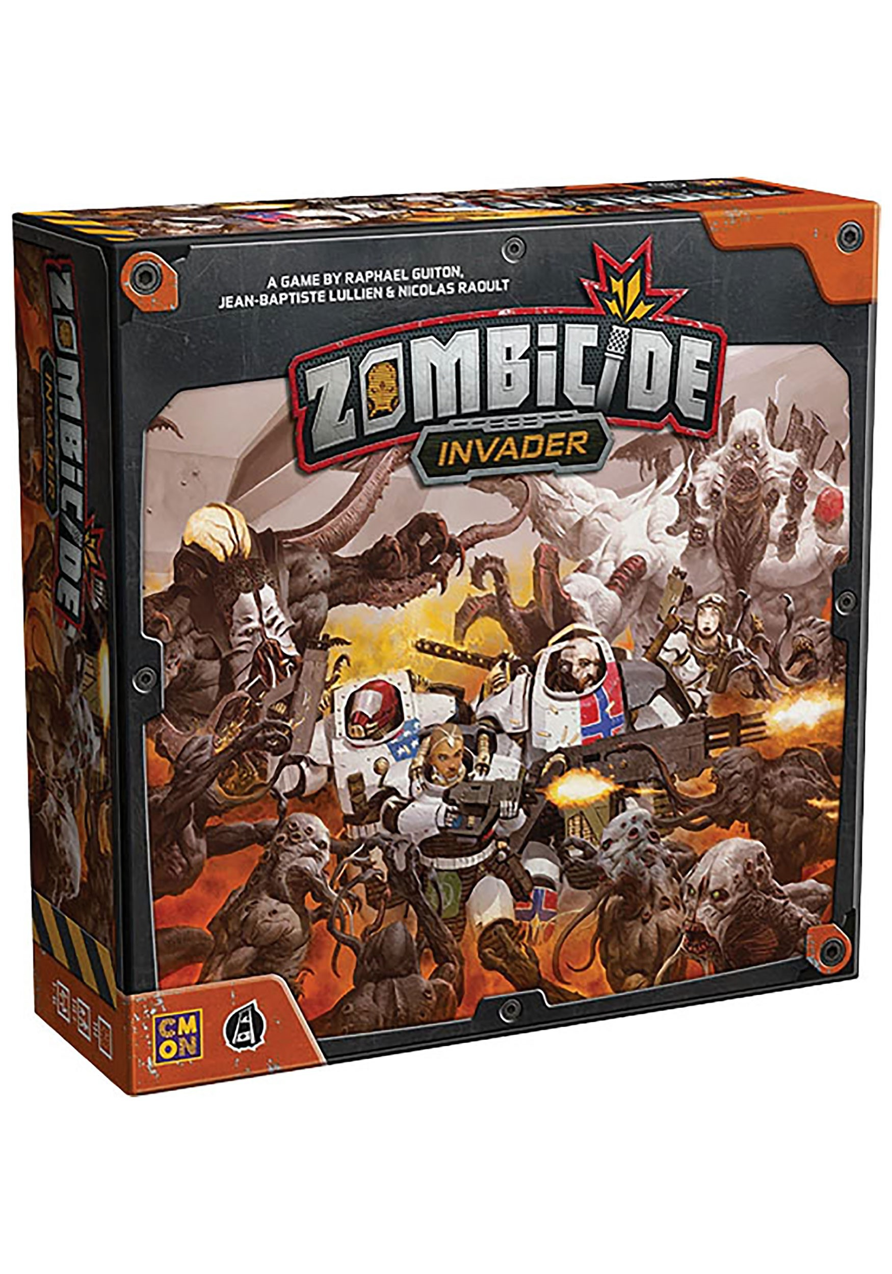 The Zombicide: Invader Board Game