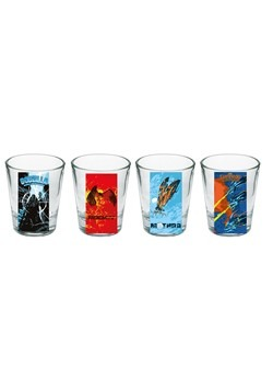 Godzilla Shot Glass Set