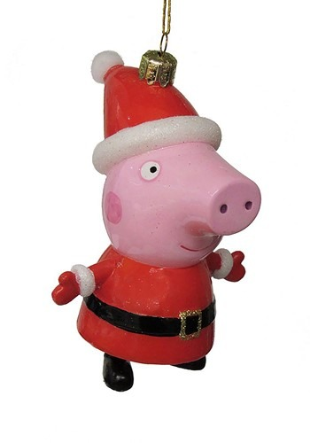 Peppa Pig Glass Ornament
