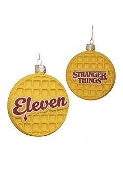 Stranger Things Eleven Waffle Ornament
