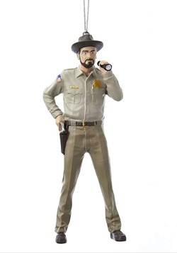 Stranger Things Sheriff Hopper Ornament
