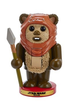 "Star Wars 7.5"" Ewok Nutcracker"