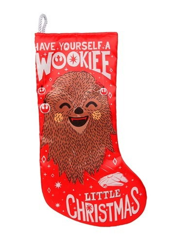 Star Wars Wookie Christmas Satin Stocking