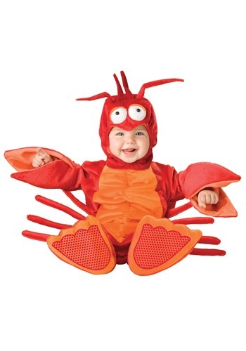 Red Infant Lobster Costume