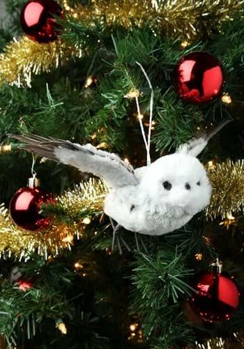 Gray Flying Owl Ornament