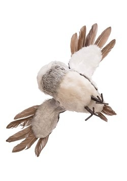 Gray Flying Owl Ornament Alt 4