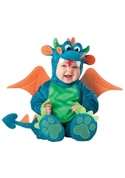 Plush Dragon Infant Costume