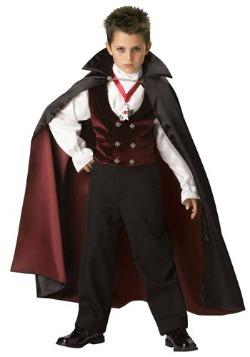 Gothic Vampire Boys Costume