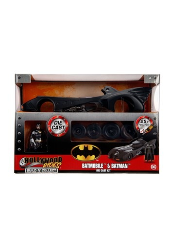 Build N' Collect 1989 Batmobile 1:24 Diecast Model