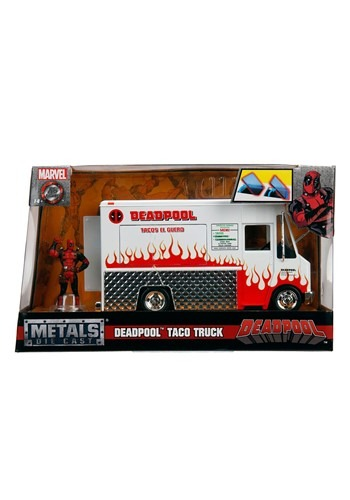 Deadpool Taco Truck 1:24 Vehicle w/ Figure