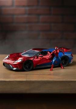 Spider-Man & Ford GT 1:24 Die-Cast Vehicle w/ Figu