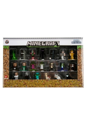Minecraft Nano Figs 20 Pack