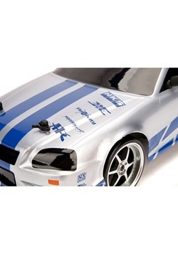 Fast & the Furious Nissan R34 1:10 Scale R/C Alt 2
