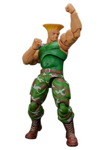 Street Fighter II Guile Storm Collectible Action Figure
