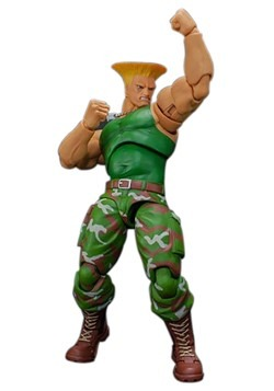 Street Fighter II Guile Storm Collectibles 1:12 Action Figur
