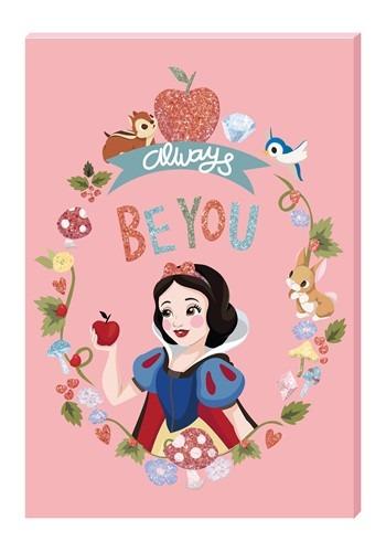 Disney Princess Snow White Motivational Wall Art Canvas with