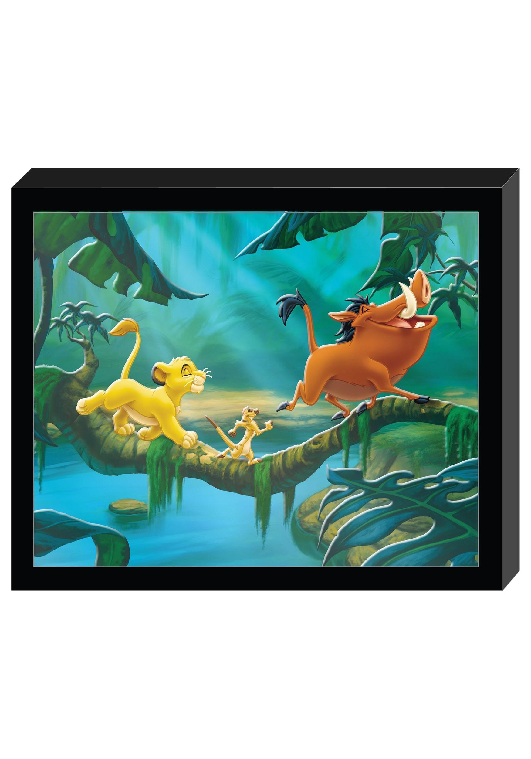 Disney the lion king molded shadowbox wall art 125x1525