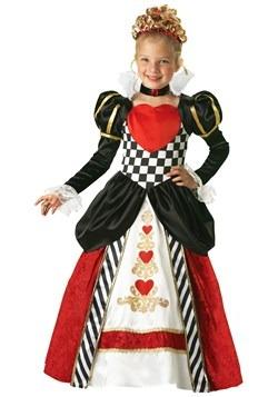 Deluxe Queen of Hearts Kids Costume