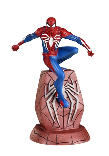 Marvel Gallery SpiderMan PS4 PVC Diorama