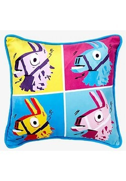 FORTNITE LLAMA WARHOL PILLOW