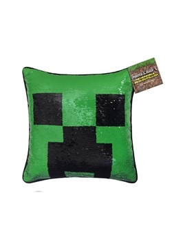 MINECRAFT 16X16 SEQUIN PILLOW