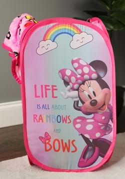 MINNIE MOUSE RAINBOW BOWS POP UP HAMPER