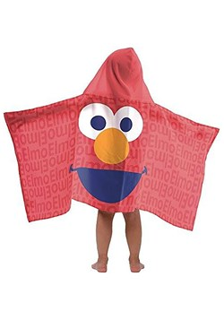 Sesame Street Elmo Hooded Towel2