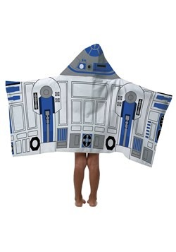 STAR WARS R2D2 HOODED TOWEL