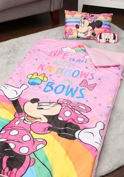 MINNIE RAINBOWS 3PC SLEEPOVER SET Upd