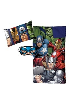 AVENGERS ASSEMBLE 3PC SLEEPOVER SET