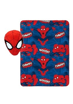 SPIDERMAN NOGGINZ SET & TRAVEL BLANKET Update
